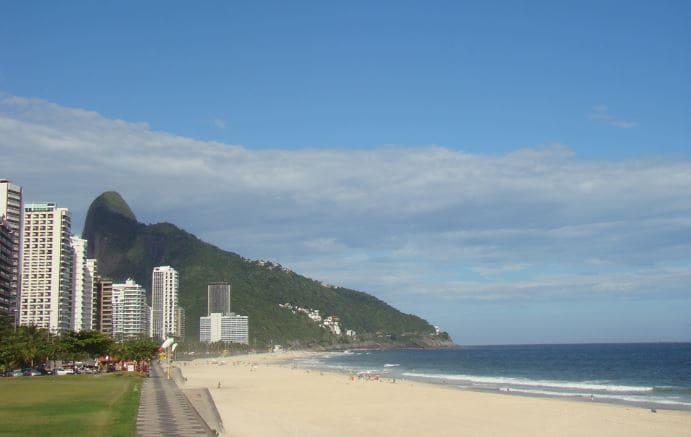 Playa más segura de Río de Janeiro
