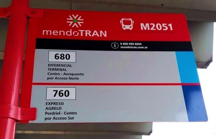 Cómo llegar del Aeropuerto de Mendoza al centro en Colectivo