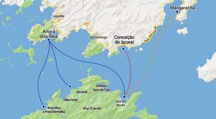 Cómo llegar desde Río de Janeiro a Ilha Grande